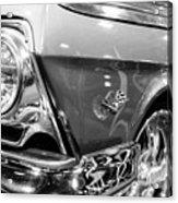 1962 Chevrolet Belair Bubbletop Acrylic Print