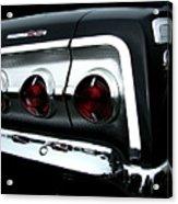 1962 Chevrolet Impala Tail Acrylic Print