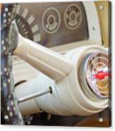 1962 Chevy Stering Wheel Acrylic Print