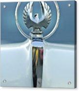 1962 Chrysler Imperial Hood Ornament Acrylic Print