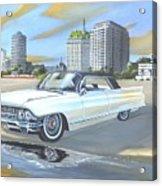1962 Classic Cadillac Acrylic Print