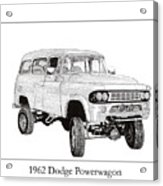 1962 Dodge Powerwagon Acrylic Print