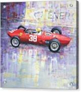 1962 Ricardo Rodriguez Ferrari 156 Acrylic Print