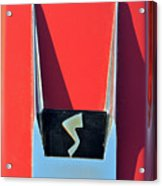 1962 Studebaker Avanti Badge Acrylic Print