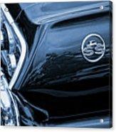 1963 Chevy Impala Blue 1963 Acrylic Print