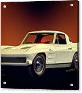 1963 Corvette 2nd Generation Acrylic Print
