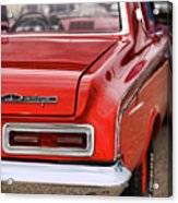 1963 Dodge 426 Ramcharger Max Wedge Acrylic Print by Gordon Dean II