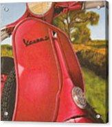 1963 Vespa 50 Acrylic Print