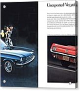 1964 Ford Mustang-08-09 Acrylic Print