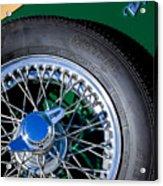 1964 Morgan 44 Spare Tire Acrylic Print