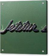 1964 Oldsmobile Jetstar Emblem Acrylic Print