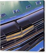 1964 Oldsmobile Jetstar Hood Ornament Acrylic Print