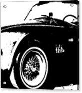 1964 Shelby Cobra Sketch Acrylic Print