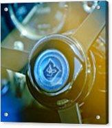 1965 Aston Martin Db5 Coupe Rhd Steering Wheel Acrylic Print