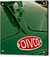 1965 Divco Milk Truck Hood Ornament Acrylic Print