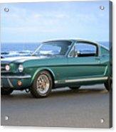1965 Ford Mustang Fastback II Acrylic Print