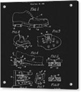 1965 Golf Shoes Patent Acrylic Print