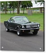 1965 Mustang Fastback Kearney Acrylic Print