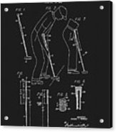 1965 Pivot Golf Putter Acrylic Print