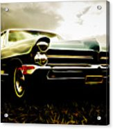 1965 Pontiac Bonneville Acrylic Print by Phil 'motography' Clark