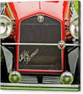 1966 Alfa Romeo Quattro Route 4r Grille Acrylic Print