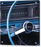 1966 Chevrolet Impala Dash Acrylic Print