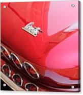 1966 Corvette Stingray Acrylic Print