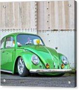 1966 Custom Green Beetle Acrylic Print