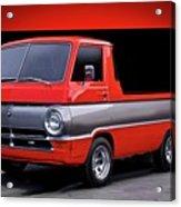 1966 Dodge A100 Pickup Acrylic Print
