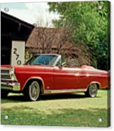 1966 Ford Fairlane 500 Convertible Acrylic Print