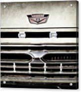 1966 Ford Pickup Truck Grille Emblem -0154ac Acrylic Print