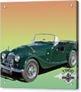 1966 Morgan 4 Plus 4 Acrylic Print