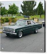 1966 Plymouth Belvedere Rapp Acrylic Print