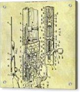 1966 Rifle Patent Acrylic Print