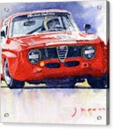 1967 Alfa Romeo Gta 1600 Groupe 5  Acrylic Print