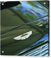 1967 Aston Martin Db6 Coupe Hood Emblem Acrylic Print
