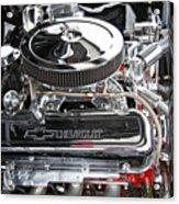 1967 Chevrolet Chevelle Ss Engine Acrylic Print
