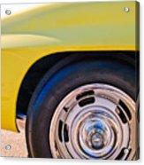 1967 Chevrolet Corvette Sport Coupe Rear Wheel Acrylic Print