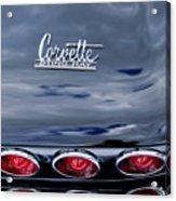 1967 Chevrolet Corvette Taillight 3 Acrylic Print