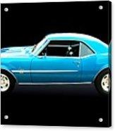 1968 Chevy Camaro Ss Acrylic Print
