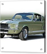 1967 Mustang 'shelby Gt 500' Acrylic Print
