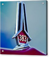 1967 Plymouth Saturn Hood Ornament Acrylic Print