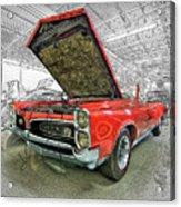1967 Pontiac Gto American Muscle Car Acrylic Print