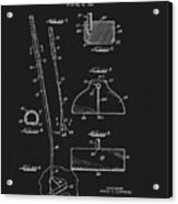 1967 Summers Golf Putter Patent Acrylic Print