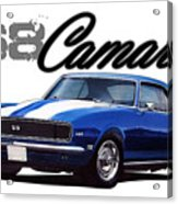 1968 Camaro Acrylic Print