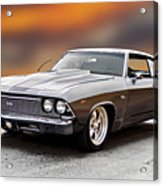 1968 Chevrolet Chevelle Ss L Acrylic Print