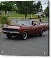 1968 Dodge Charger Grow Acrylic Print