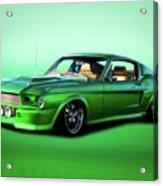 1968 Ford Mustang Fastback II Acrylic Print