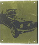 1968 Ford Mustang Acrylic Print