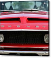 1968 Ford Mustang Shelby Gt500 Kr Acrylic Print